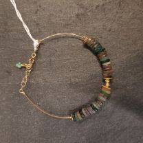 Bracelet  Agate indien de Rosekafe