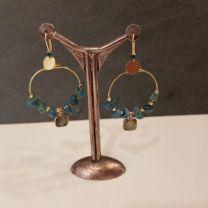 Boucles d'oreilles un bijou en terrasse