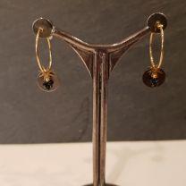 Boucles d'oreilles rosekafe