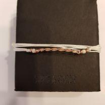 Bracelet corde de guitare et cordon de soie Sing A Song