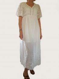 Robe blanche Lola Espeleta