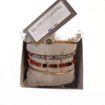 Bracelet orangé Les Interchangeables