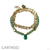 Bracelet ou collier Cartago de un Bijou en terrasse