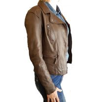 Veste cuir Camera de oakwood