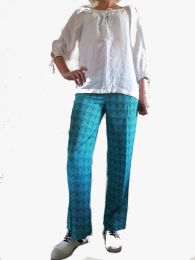Pantalon Dipamala roupa la Fiancée du Mékong