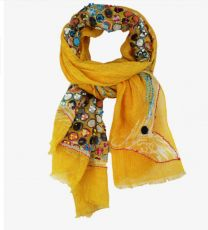 Foulard Cathy jaune de Storiatipic
