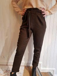 Pantalon Magotier choco de Louizon