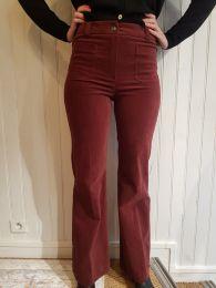 pantalon vito bordeau de Louizon