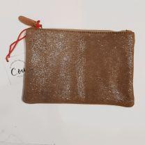 Pochette porte papiers cuir C.oui